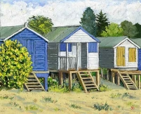 <strong>Beach huts' Whitstable</strong>