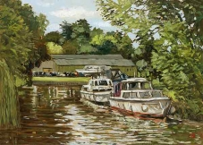 <strong>Boats at Wargrave</strong>