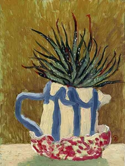 Becky's stripey jug