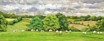 <strong>Sheep at Maidensgrove</strong>