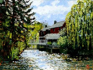 Mill House at Marsh Lock' Henley