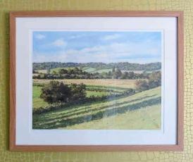 View from Church Lane' Remenham' Henley