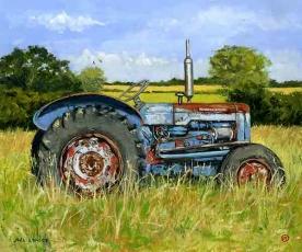 Fordson Dexta tractor' Cornwall