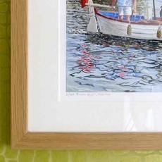 River idyll' Henley - frame detail.