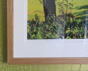 Russells Water I' Summer. Framed' detail.
