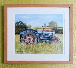 Ford Dexta tractor' Cornwall